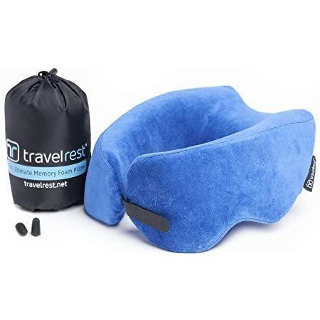 """<p><strong>TravelRest</strong></p><p>amazon.com</p><p><strong>$32.04</strong></p><p><a href=""""https://www.amazon.com/dp/B01MQG1BA7?tag=syn-yahoo-20&ascsubtag=%5Bartid%7C10070.g.24378973%5Bsrc%7Cyahoo-us"""" rel=""""nofollow noopener"""" target=""""_blank"""" data-ylk=""""slk:Shop Now"""" class=""""link rapid-noclick-resp"""">Shop Now</a></p><p>Made with spongy memory foam, this plush yet firm travel pillow will allow your boss to finally catch some zzz's while they're on the road. </p>"""