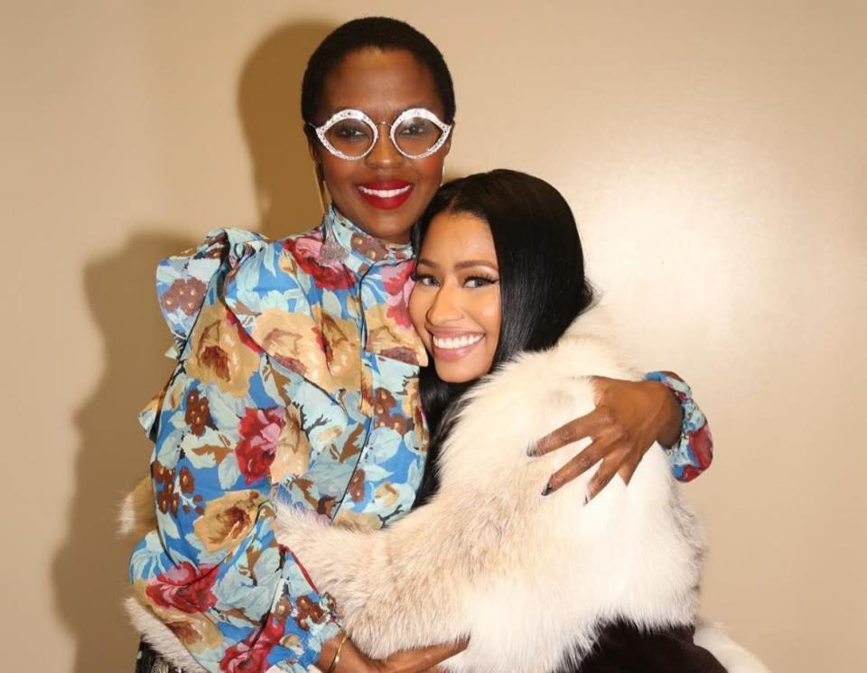 Nicki Minaj's reaction when she met Lauryn Hill is super relatable