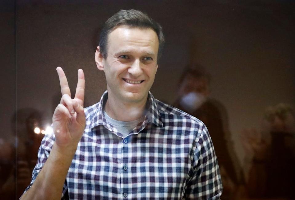 <p>US intelligence has concluded that the Russian state was behind the poisoning of Alexei Navalny</p> (Copyright 2021 The Associated Press. All rights reserved)