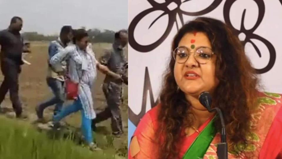 TMC candidate Sujata Mondal attacked by BJP workers, alleges party