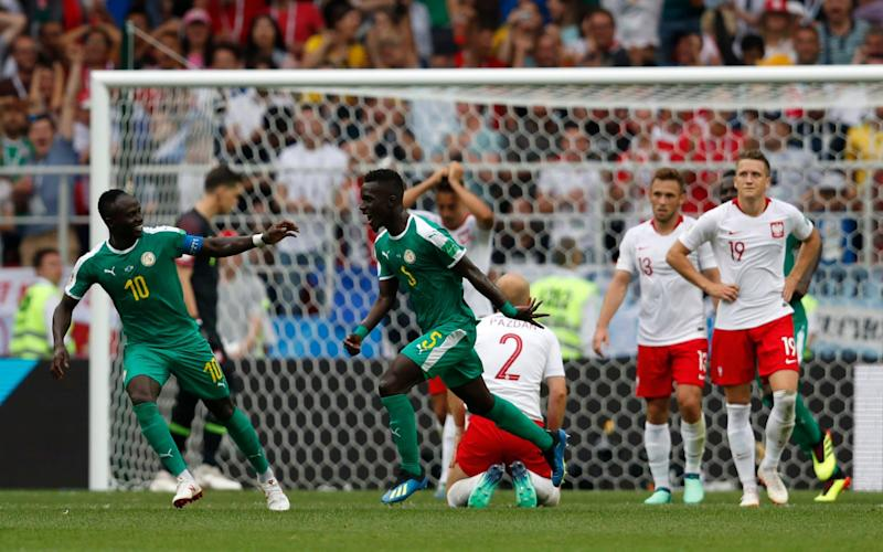 Senegal became the first African team to win their opener at the World Cup this tournament - AP