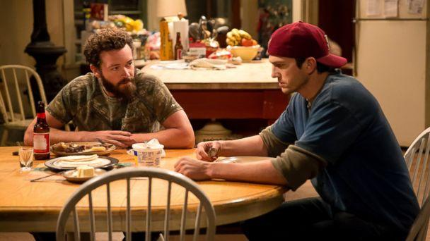 PHOTO: Danny Masterson and Ashton Kutcher in a scene from 'The Ranch.' (Greg Gayne/Netflix)