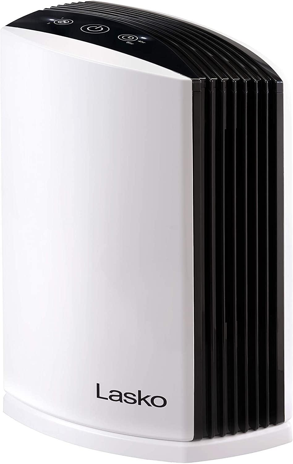 <p>Make sure your home is filled with clean air this year with the <span>Lasko HEPA Desktop Air Purifier</span> ($70).</p>