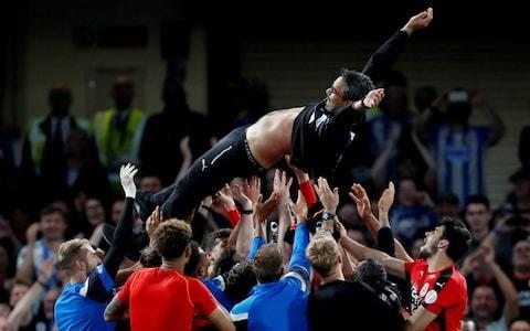 <span>A point at Stamford Bridge confirmed Huddersfield's survival in the Premier League</span> <span>Credit: Reuters </span>