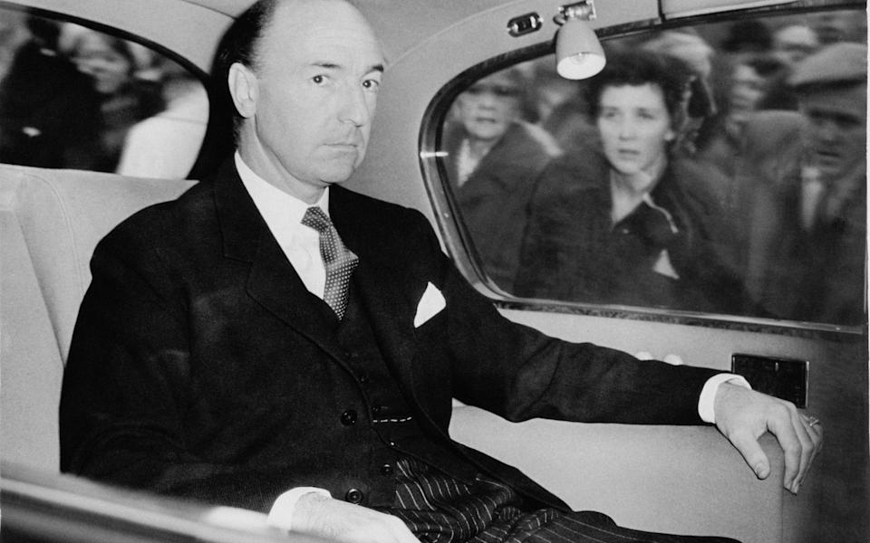British Secretary of State for War John Profumo, whose affair led to his resignation from the government - Hulton Archive
