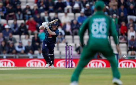 England's Eoin Morgan in action - Credit: Action Images via Reuters/Paul Childs