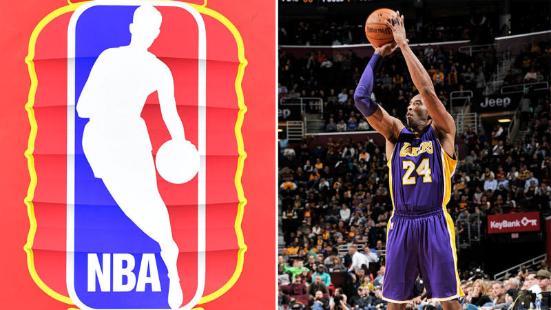 The NBA aren't likely to change their official logo to resemble Kobe Bryant. (Getty Images)