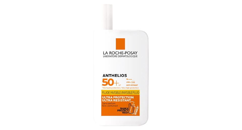 La Roche-Posay Anthelios Ultra-Light Invisible Fluid Sun Cream SPF50.