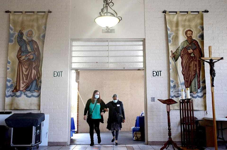 L.A. Churches Act As COVID-19 Vaccination Sites To Reach Minority Communities