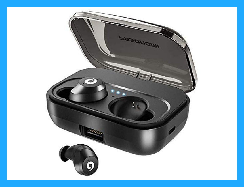 Save $8 on these Pasonomi Wireless Earbuds. (Photo: Amazon)