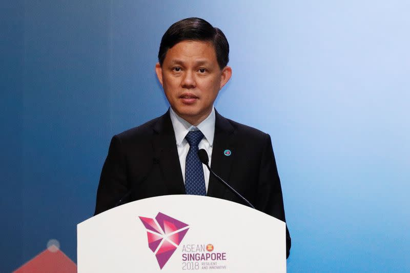 Singapore minister says RCEP trade deal on track for year-end signing