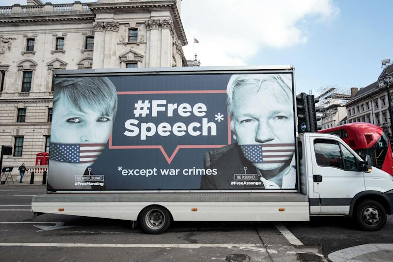 Chelsea Manning has repeatedly refused to testify against Wikileaks or Julian Assange: Getty