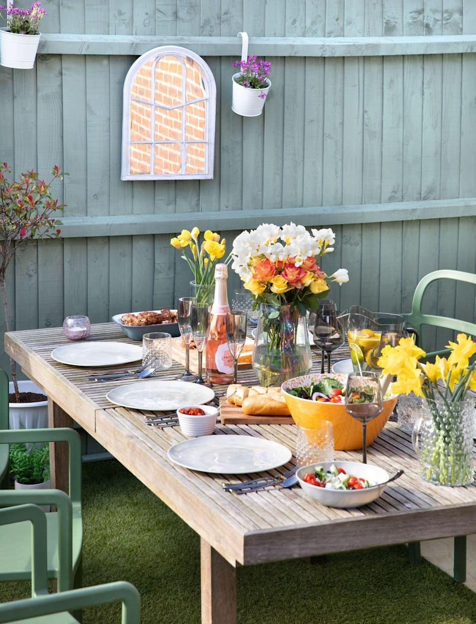 """<p>There's lots to get your hands on in the range, including decorative <a href=""""https://www.housebeautiful.com/uk/garden/g32755466/garden-accessories/"""" rel=""""nofollow noopener"""" target=""""_blank"""" data-ylk=""""slk:accessories"""" class=""""link rapid-noclick-resp"""">accessories</a> such as stone pears and apples (£3), as well as unique garden gargoyle figurines (£3). Why not place them around your dining area for wow factor? </p><p><a class=""""link rapid-noclick-resp"""" href=""""https://www.poundland.co.uk/store-finder/"""" rel=""""nofollow noopener"""" target=""""_blank"""" data-ylk=""""slk:FIND NEAREST STORE"""">FIND NEAREST STORE</a></p>"""