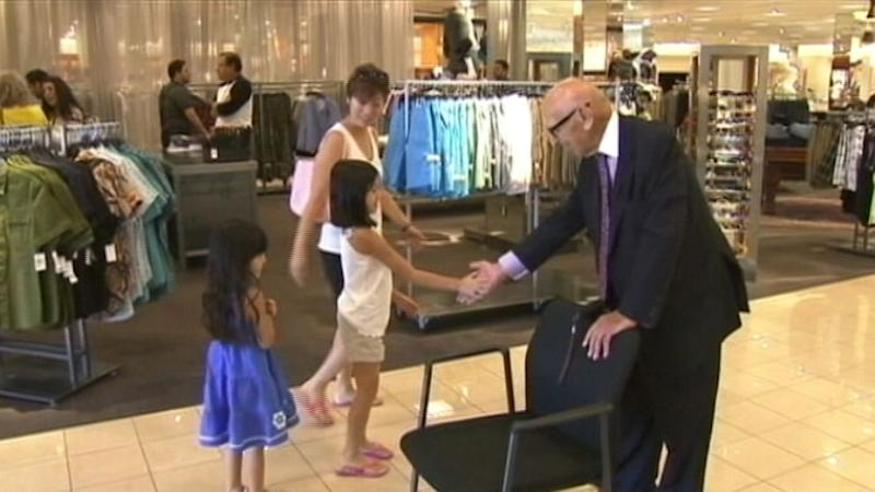 99-Year Old California Man Is Nordstrom's Only Greeter