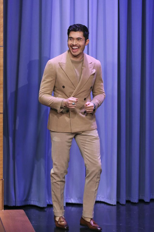 "<p>WHERE: ""The Tonight Show Starring Jimmy Fallon"" </p> <p>WHEN: November 6, 2019 </p> <p>WHY: Yup, head-to-toe camel cashmere looks as good in real life as it sounds on paper.</p>"
