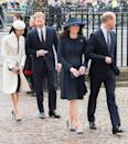 <p><strong>When: March 12, 2018</strong><br>Gorgeous! We can't wait to see what Markle will wear next ahead of her upcoming wedding to Prince Harry this May. <em>(Photo: Getty)</em> </p>