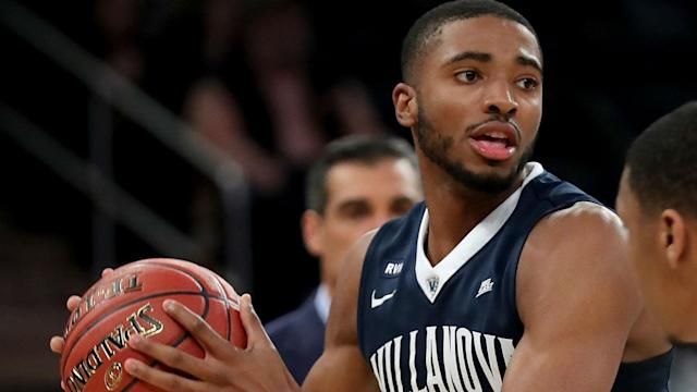 Philadelphia selected the 21-year-old Villanova guard with the No. 10 pick.