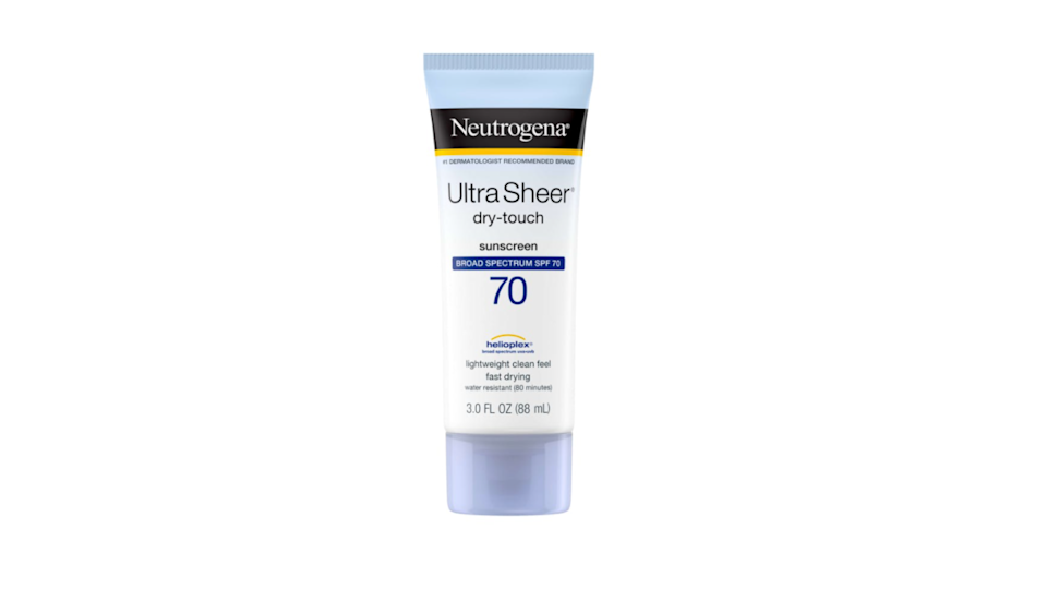 Protect your skin with a broad spectrum SPF.