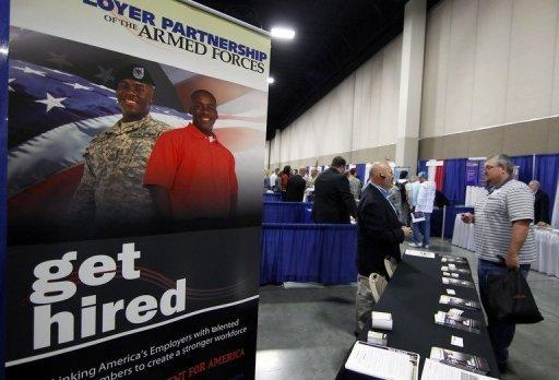 The dramatically weak numbers signaled the much hoped-for recovery in the job market has stalled
