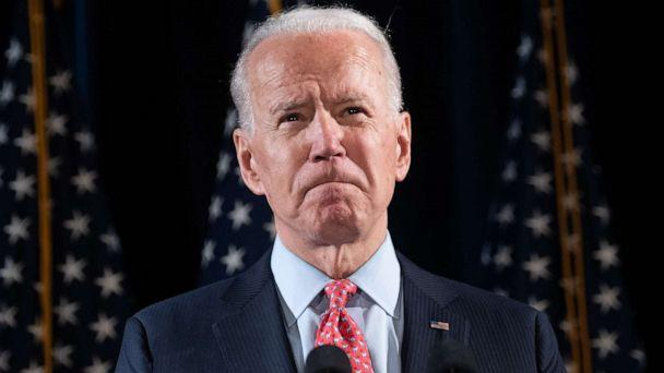 PHOTO: Joe Biden speaks about COVID-19 during a press event in Wilmington, Delaware, March 12, 2020. (Saul Loeb/AFP via Getty Images, FILE)