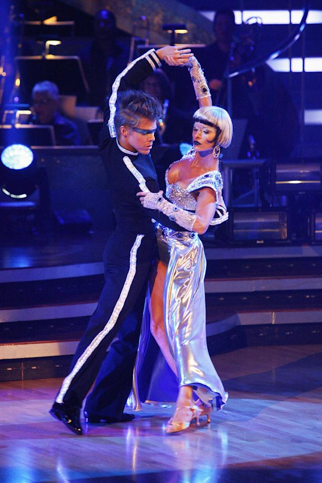 """Joanna Krupa and Derek Hough perform on """"Dancing with the Stars."""""""