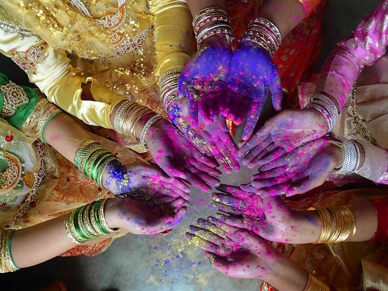 Holi, the Festival of Colours, is celebrated by Hindus around the world: Getty Images