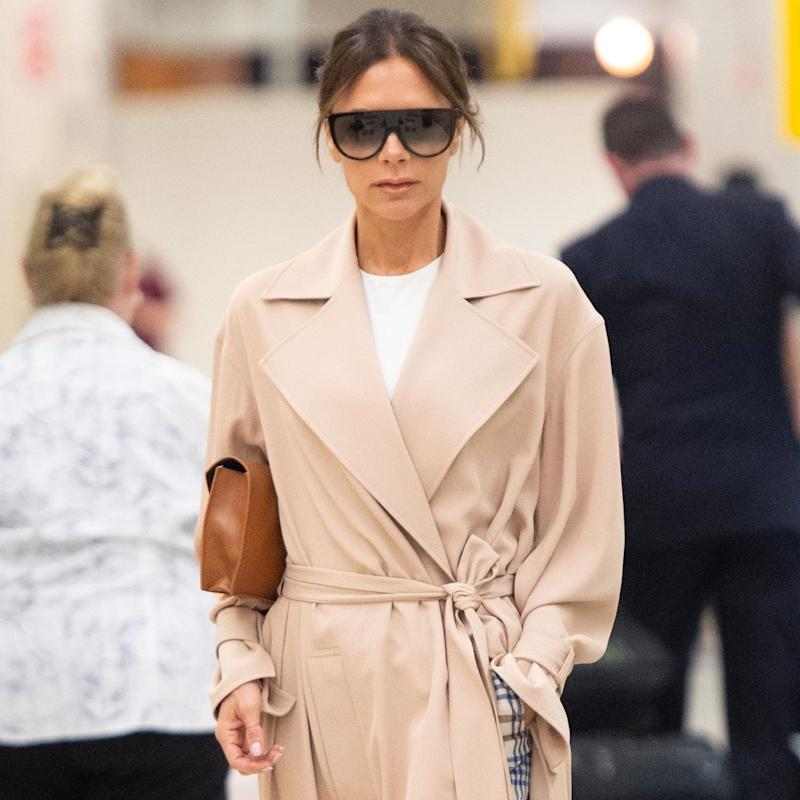 Victoria Beckham Has a Cozy New Airport Look