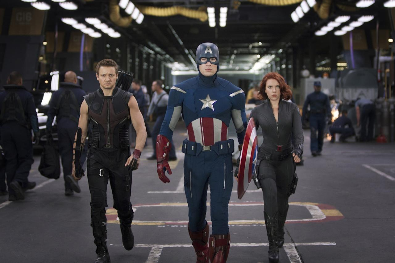 <p>Being a superhero will certainly net you an impressive pay day, but it's not quite enough to get you the biggest paycheque in Hollywood. (Marvel Studios / Paramount Pictures). </p>