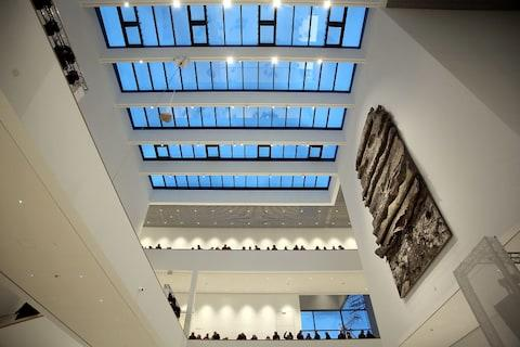 Inside the new Kunsthalle - Credit: GETTY