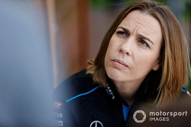 """Claire Williams, Deputy Team Principal, Williams Racing <span class=""""copyright"""">Andy Hone / Motorsport Images</span>"""