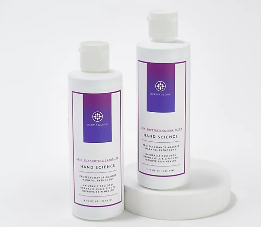 Clean and moisturize your hands at once! (Photo: QVC)
