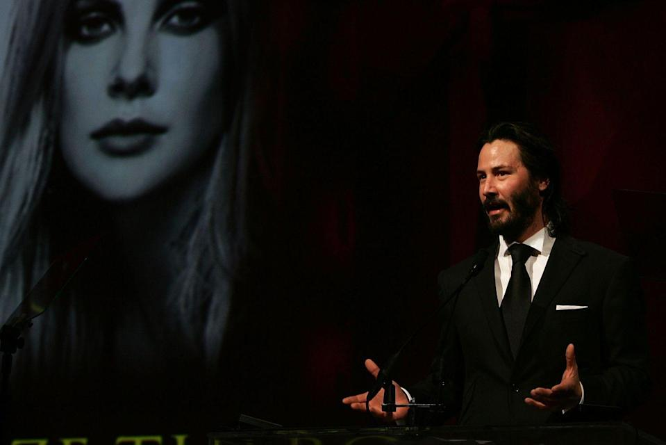 <p>I would buy stock in whatever Keanu is selling.</p>