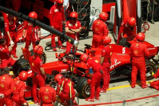 Ferrari had issues before and during last weekend's Grand Prix