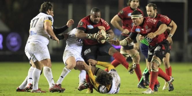 Rugby- Top 14 Le RCT poussif, le Racing s'exporte