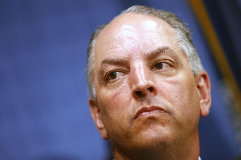 Louisiana's Democratic governor wins re-election in Republican-leaning state