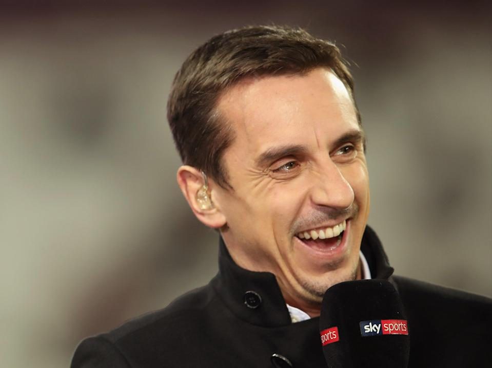 Sky Sports pundit Gary Neville (Getty Images)