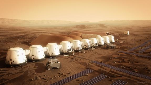 All components of Mars One's settlement are slated to reach their destination by 2021. The hardware includes two living units, two life-support units, a second supply unit and two rovers.