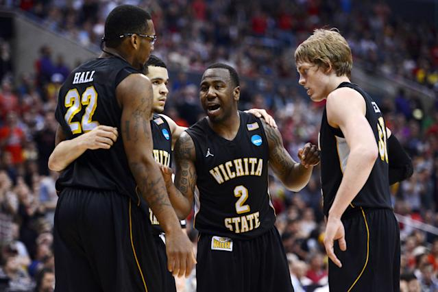 <p>While Wichita State does have a strong basketball tradition, it still took an unlikely path to the Final Four. As an overlooked No. 9 seed, the aptly named Shockers put a shock to No. 1 seed Gonzaga in the round of 32 before taking out No. 2 Ohio State in the regional final. Making its first Final Four showing since 1965, the Shockers lost narrowly 72-68 to eventual champion Louisville. </p>