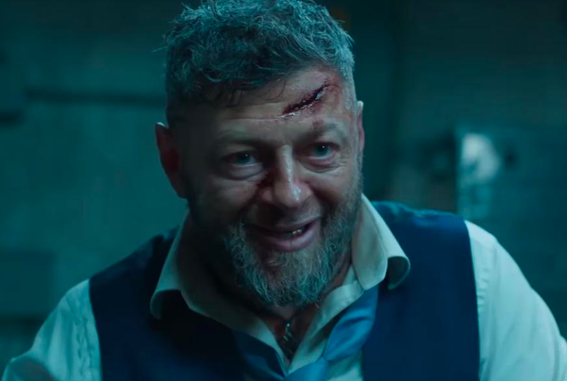 "Andy Serkis in ""Black Panther"" (Marvel)"