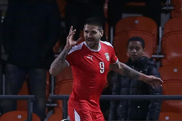 Fulham striker Aleksandar Mitrovic tipped to join 'bigger, better' club this summer by Serbia boss