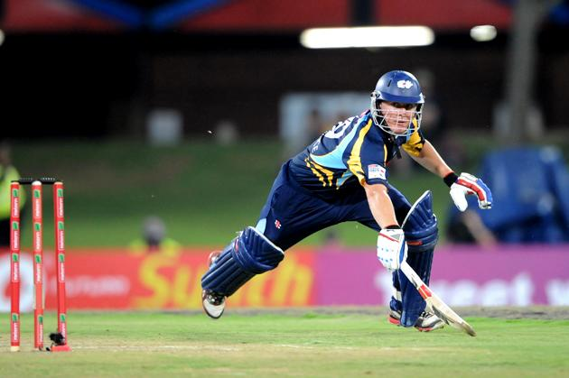 PRETORIA, SOUTH AFRICA - OCTOBER 10: Gary Ballance of Yorkshire in action during the Karbonn Smart CLT20 pre-tournament Qualifying Stage match between Yorkshire (England) and Trinidad and Tobago (West Indies) at SuperSport Park on October 10, 2012 in Pretoria, South Africa.  (Photo by Lee Warren / Gallo Images / Getty Images)