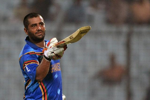Afghan cricketer Mohammad Shahzad, who made his international debut in 2010, has played 58 matches in each of the ODI and Twenty20 formats (AFP Photo/MUNIR UZ ZAMAN)