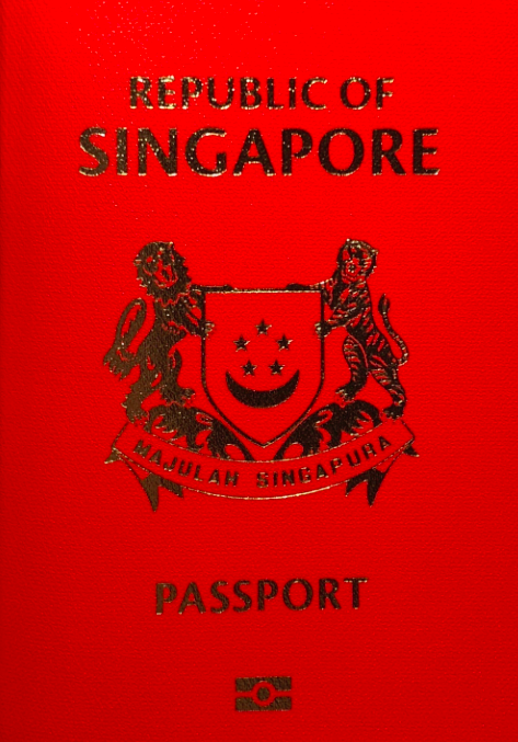 <em>The 2018 Henley Passport Index saw the Singapore passport fall to second place (Wikipedia)</em>