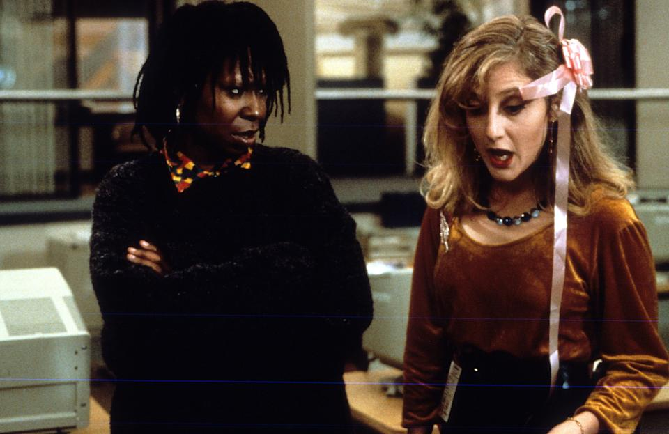 "Whoopi Goldberg and Kane in ""Jumpin' Jack Flash."" (Photo: 20th Century Fox via Getty Images)"