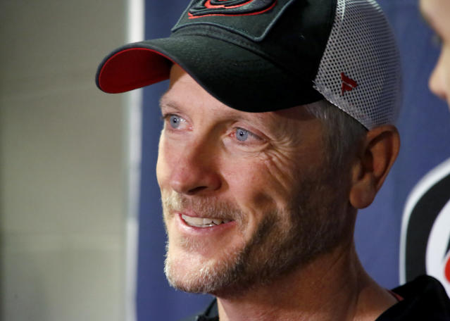 Tom Dundon, majority owner of the Carolina Hurricanes, filed a claim against the AAF in bankruptcy court. (AP)
