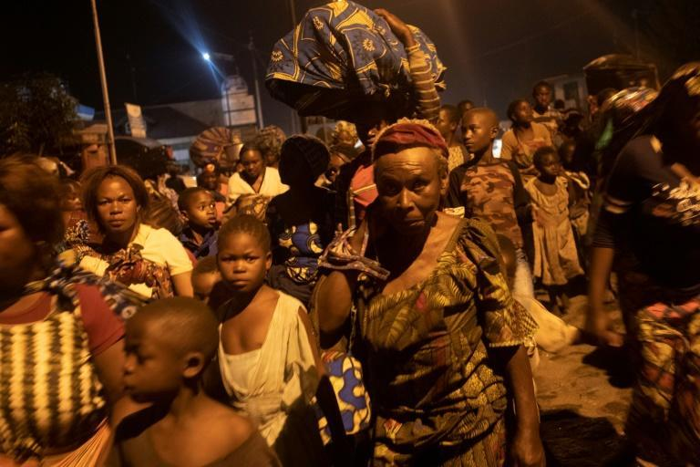Hundreds of Goma residents have already started leaving the city, which has been hit by lava flows in previous eruptions