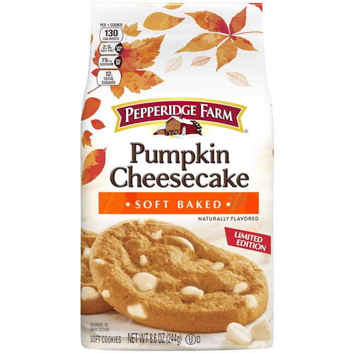 <p>Because you don't have to do alllll the baking this fall. Pick up a pack of these and you'd swear they were homemade. </p>