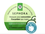 """<p><strong>SEPHORA COLLECTION</strong></p><p>sephora.com</p><p><strong>$3.50</strong></p><p><a href=""""https://go.redirectingat.com?id=74968X1596630&url=https%3A%2F%2Fwww.sephora.com%2Fproduct%2Fsephora-collection-clean-eye-mask-P460856&sref=https%3A%2F%2Fwww.goodhousekeeping.com%2Fbeauty%2Fanti-aging%2Fg32633457%2Fbest-undereye-patches%2F"""" rel=""""nofollow noopener"""" target=""""_blank"""" data-ylk=""""slk:Shop Now"""" class=""""link rapid-noclick-resp"""">Shop Now</a></p><p>Sephora reviewers love the soothing and depuffing feeling of this cucumber set. Instead of being made of a gel-like material, these are made of a natural fiber so <strong>they feel more reminiscent of sheet masks made specially for your eyes. </strong></p><p>Sephora has many different iterations of eye masks, but cucumber is the reviewer favorite to reduce puffiness. It's just as relaxing as placing fresh-sliced cucumbers on your eyes — but a lot more functional. </p>"""