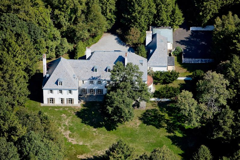 In this Aug. 2010 photo provided by Barbara Cleary's Realty Guild, Huguette Clark's New Caanan, Conn., estate is shown. Surrounded by 52 acres of land, no one has lived at the estate in over two decades since its owner, copper heiress Huguette Clark was last seen leaving her luxury New York City apartment on a stretcher. Jury selection is expected to begin in New York on Tuesday, Sept. 17, 2013 in a civil trial over Clark's will. Distant relatives are challenging the 2005 will that omits them and leaves Clark's considerable wealth largely to arts charities, her nurse and a goddaughter. (AP Photo, File) NO SALES