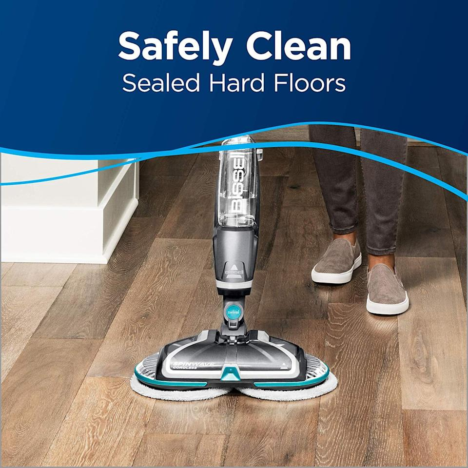 "<p>If you have hardwood floors and don't already own this <a href=""https://www.popsugar.com/buy/Bissell-Spinwave-Cordless-Hard-Mop-548278?p_name=Bissell%20Spinwave%20Cordless%20Hard%20Mop&retailer=amazon.com&pid=548278&price=146&evar1=casa%3Aus&evar9=47209032&evar98=https%3A%2F%2Fwww.popsugar.com%2Fhome%2Fphoto-gallery%2F47209032%2Fimage%2F47209440%2FBissell-Spinwave-Cordless-Hard-Mop&list1=shopping%2Camazon%2Corganization%2Cspring%20cleaning%2Chome%20organization&prop13=api&pdata=1"" rel=""nofollow"" data-shoppable-link=""1"" target=""_blank"" class=""ga-track"" data-ga-category=""Related"" data-ga-label=""https://www.amazon.com/Bissell-Spinwave-Cordless-Cleaner-Buffer/dp/B079ZPDN4M/ref=sxin_4_osp99-4be4ae94_cov?ascsubtag=4be4ae94-9e73-4210-b6bc-3f976b776bc9&amp;creativeASIN=B079ZPDN4M&amp;cv_ct_cx=mop&amp;cv_ct_id=amzn1.osp.4be4ae94-9e73-4210-b6bc-3f976b776bc9&amp;cv_ct_pg=search&amp;cv_ct_wn=osp-search&amp;keywords=mop&amp;linkCode=oas&amp;pd_rd_i=B079ZPDN4M&amp;pd_rd_r=ddc2a269-6a85-4789-8fbe-62074f556685&amp;pd_rd_w=Sw5yC&amp;pd_rd_wg=IzTc1&amp;pf_rd_p=62c00474-6fe0-420f-9956-a05256e04b43&amp;pf_rd_r=4QQDND0C03CMG3T8G5KK&amp;qid=1581451604&amp;sr=1-2-32a32192-7547-4d9b-b4f8-fe31bfe05040&amp;tag=gearpublish-20"" data-ga-action=""In-Line Links"">Bissell Spinwave Cordless Hard Mop</a> ($146), you should.</p>"